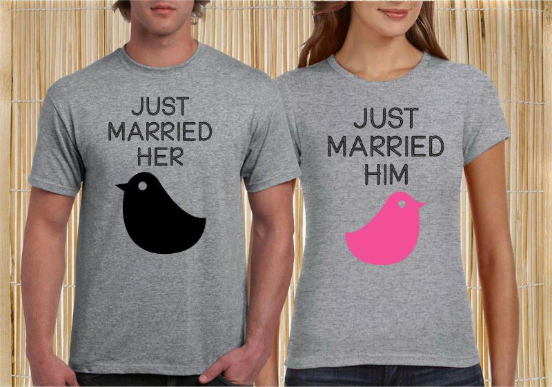 just married print