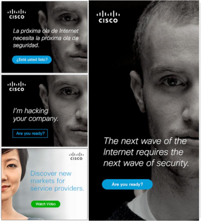 CISCO online marketing