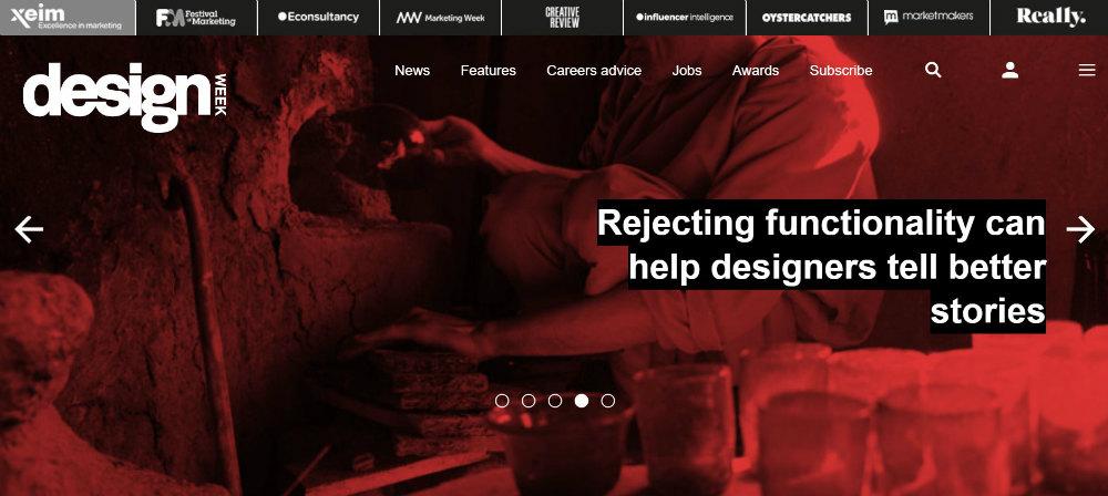 Design_Week homepage