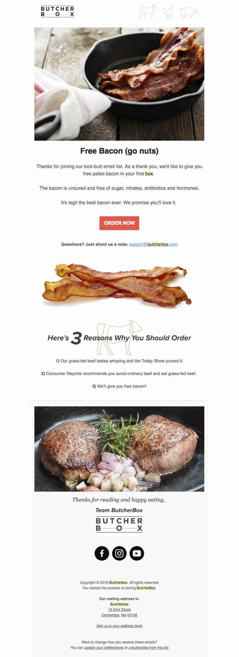 butcher_box email marketing