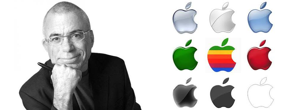 apple logo designer
