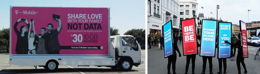 outdoor advertising example