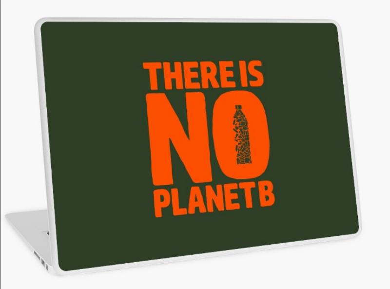 preservation laptop sticker design