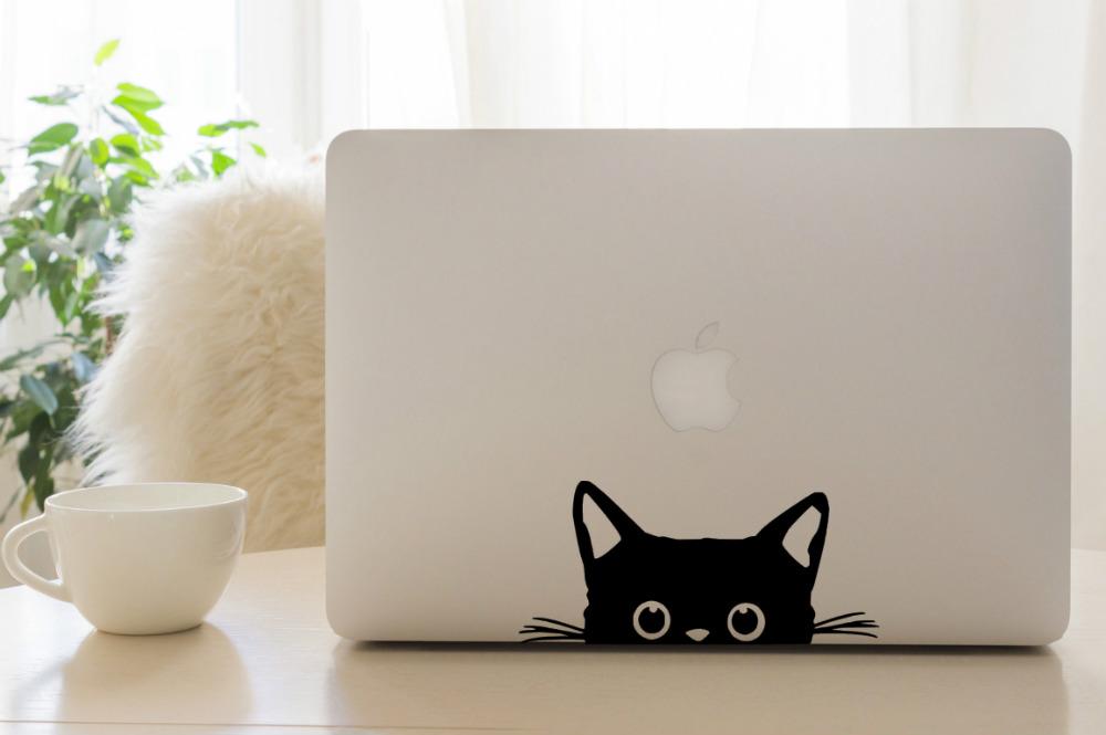 cute laptop sticker design