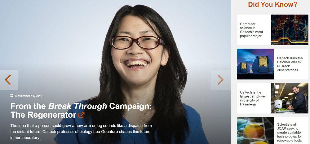 Caltech website