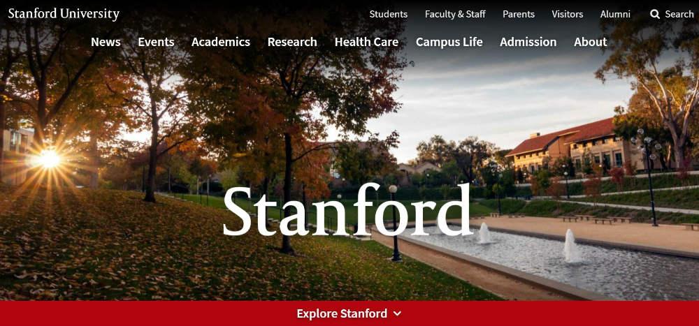 Stanford website