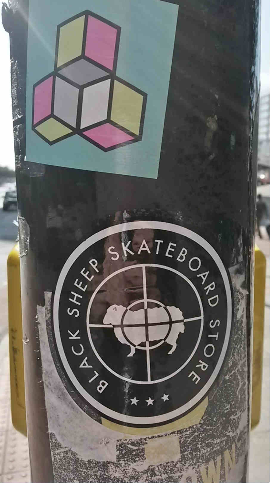 lamp sticker marketing