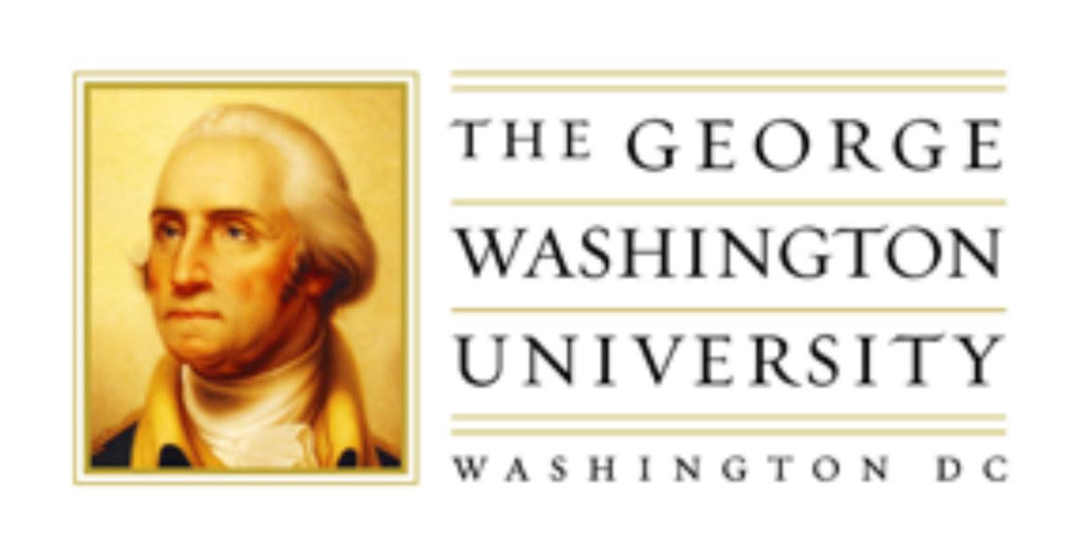 gwu old logo design
