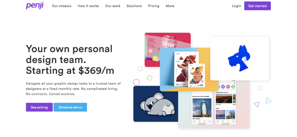 penji homepage