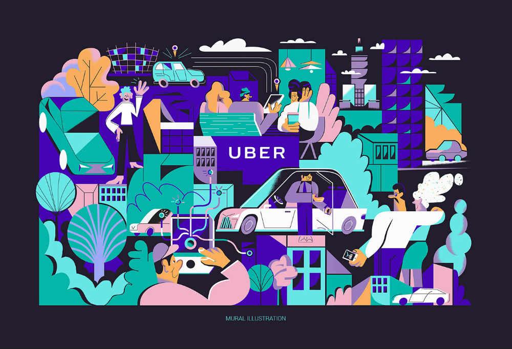 uber graphics
