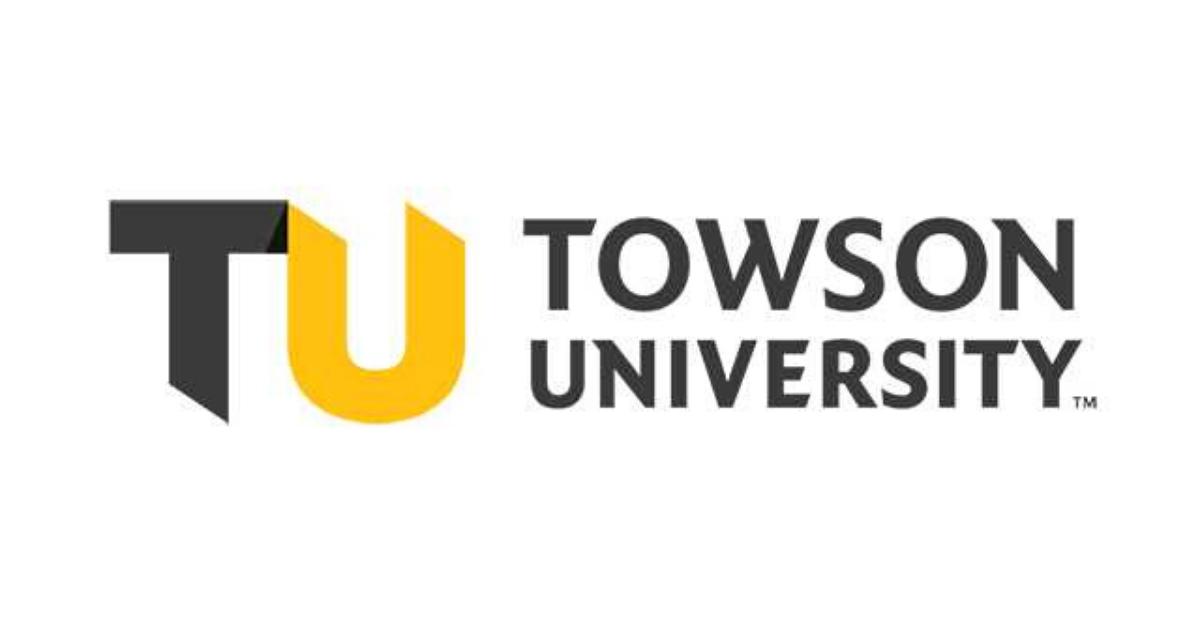 towson university new logo design
