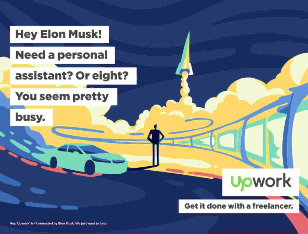 upwork ad campaign