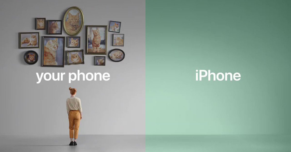 apple advertising