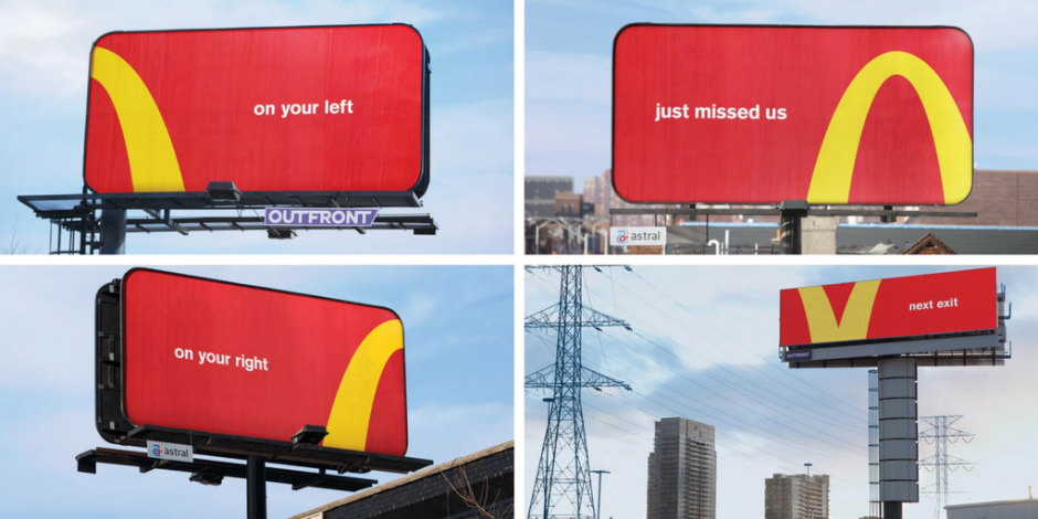 successful billboard design example