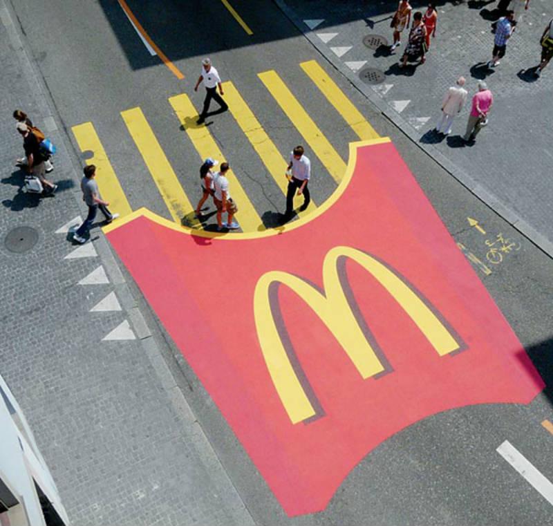 mcdonalds pedestrian ad