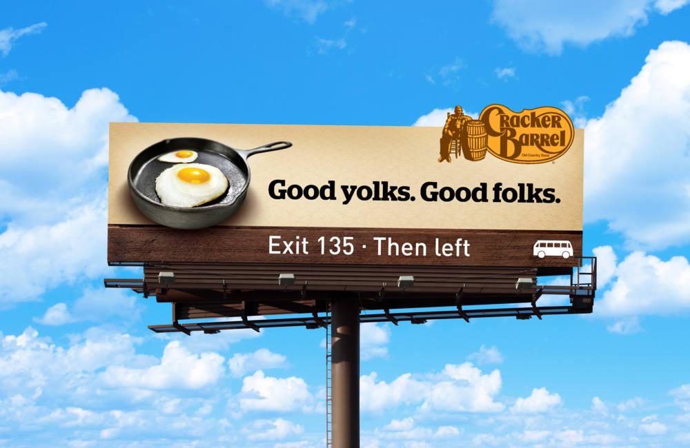 cracker barrel advertising