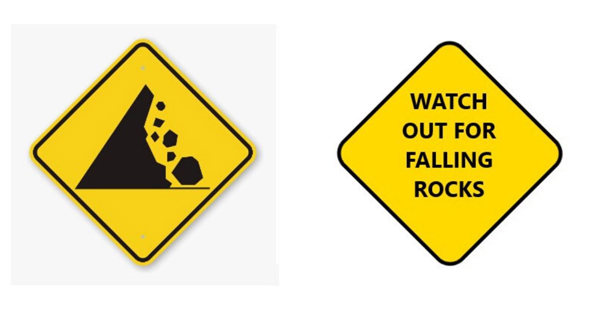yellow signage