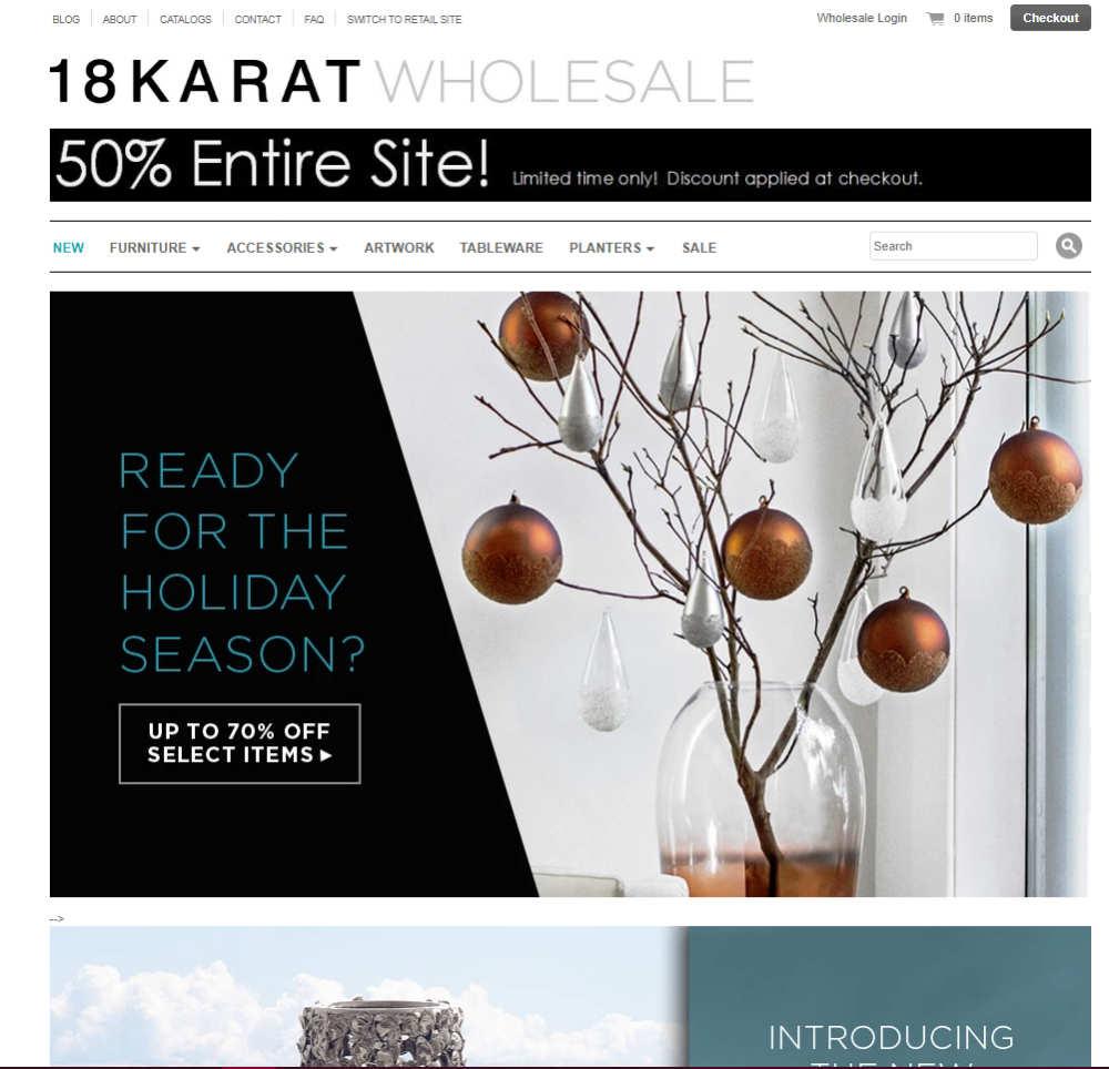 18karat homepage