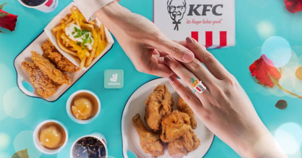 KFC graphic design example