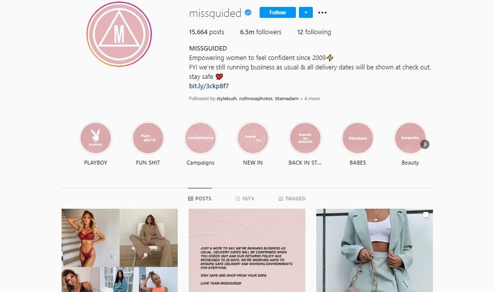 Missguided social media design
