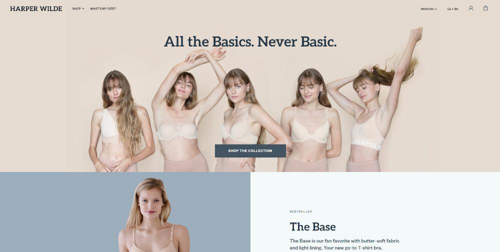 harper-wilde homepage