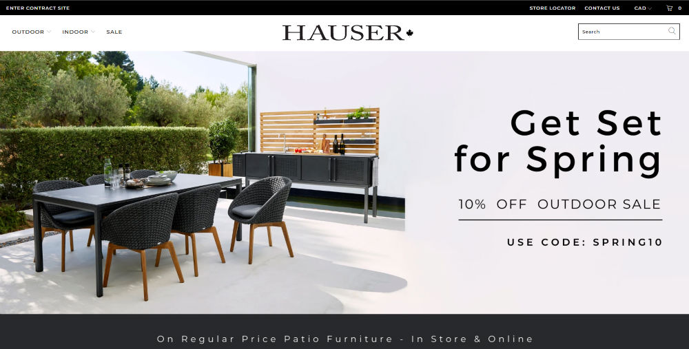 hauser homepage