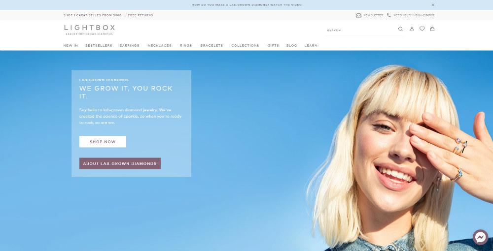 lightbox homepage