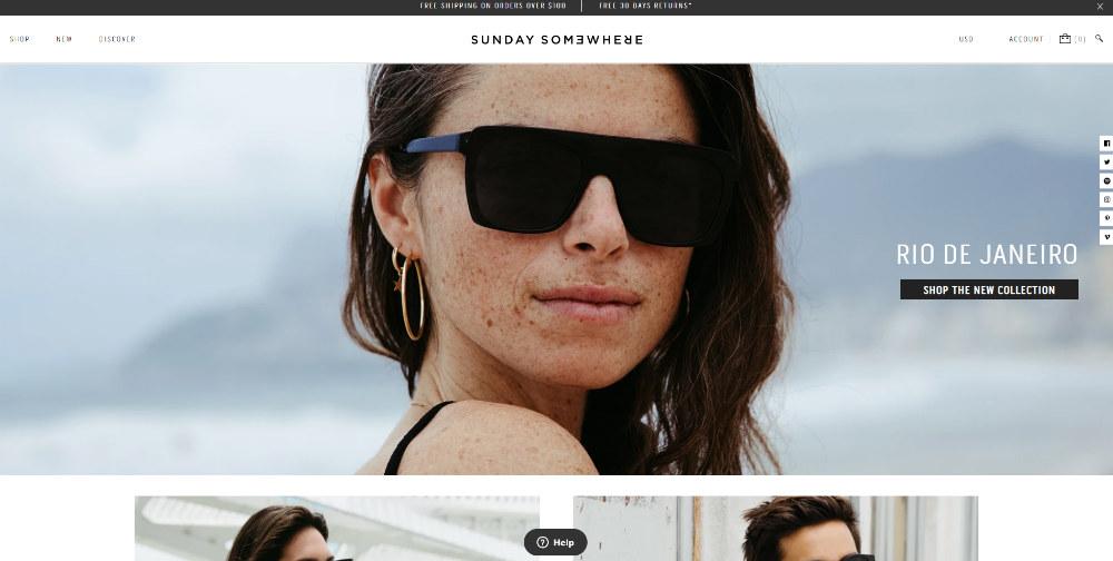 sunday-somewhere homepage