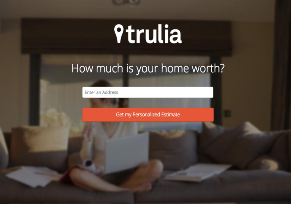 trulia web page design