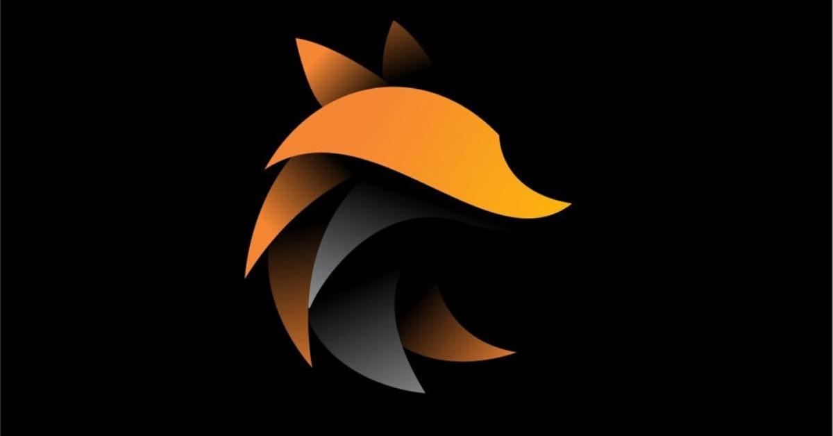 logo design layering example