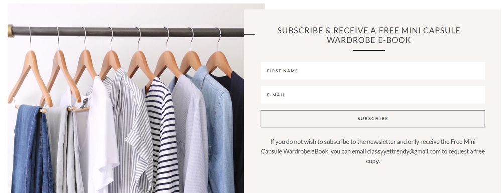 landing page example