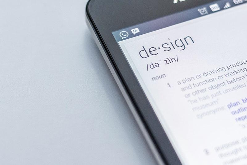 dictionary design definition